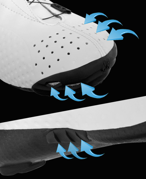 Ventilation-bont-cycling-shoe